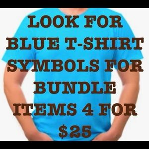 👕👕PICK 4 T-SHIRTS with 👕👕👕 4 for $25👕👕